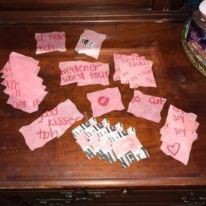 thank u, next confetti - sweetener world tour
